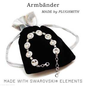 Swarovski Armband made by PLUGSMITH